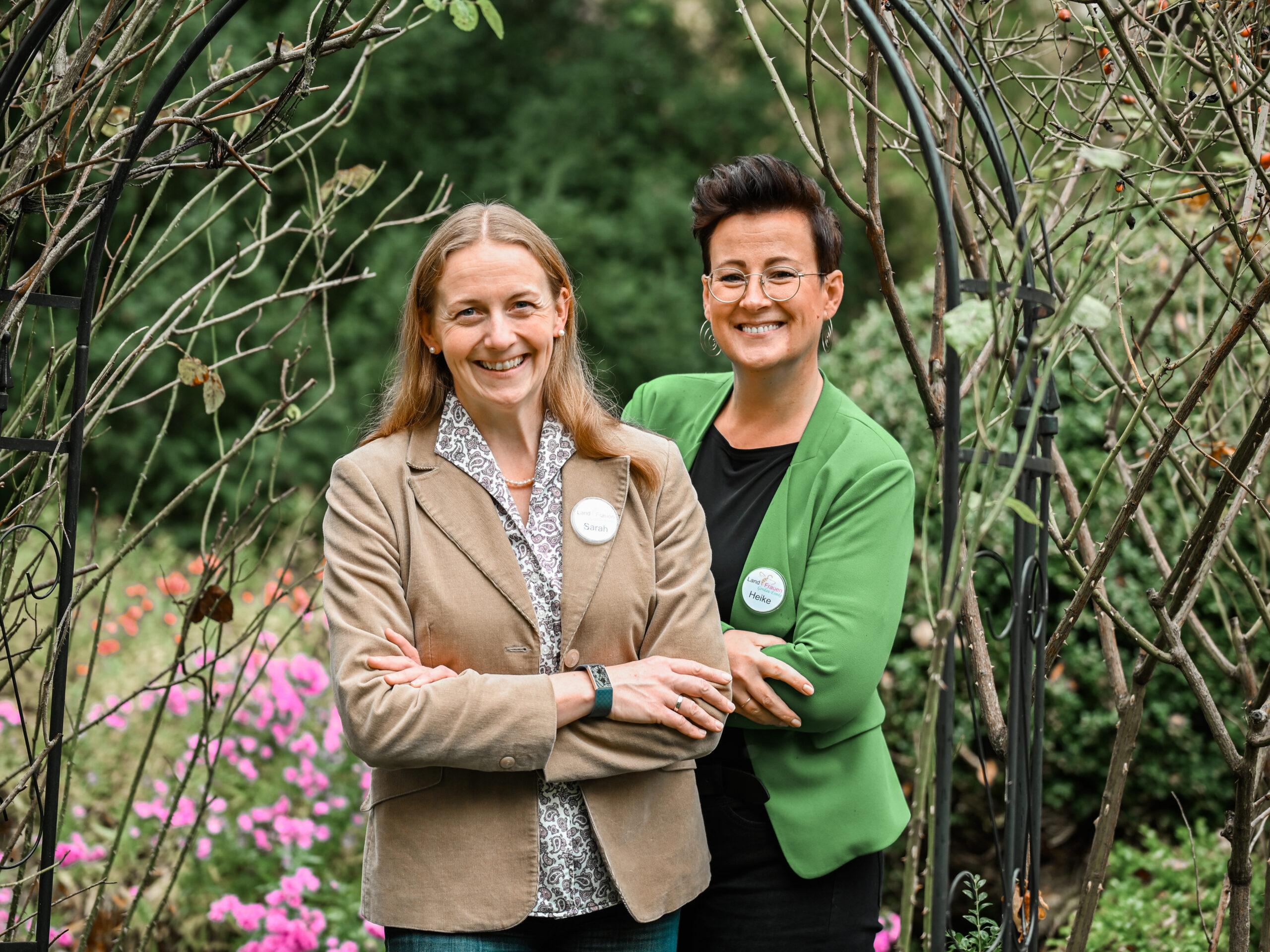 Team-Vorsitzende Sarah Schulz und Heike Wechselbaum-Mennerich